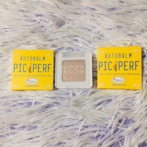 TheBalm Eyeshadow and Natasha Denona Eyeshadow
